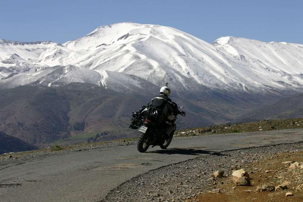 motocyklem do Maroka w maju
