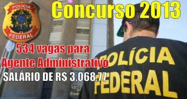 1zdw CONCURSO DA POLÍCIA FEDERAL 2013/2014   CARGOS NÍVEL MÉDIO E SUPERIOR