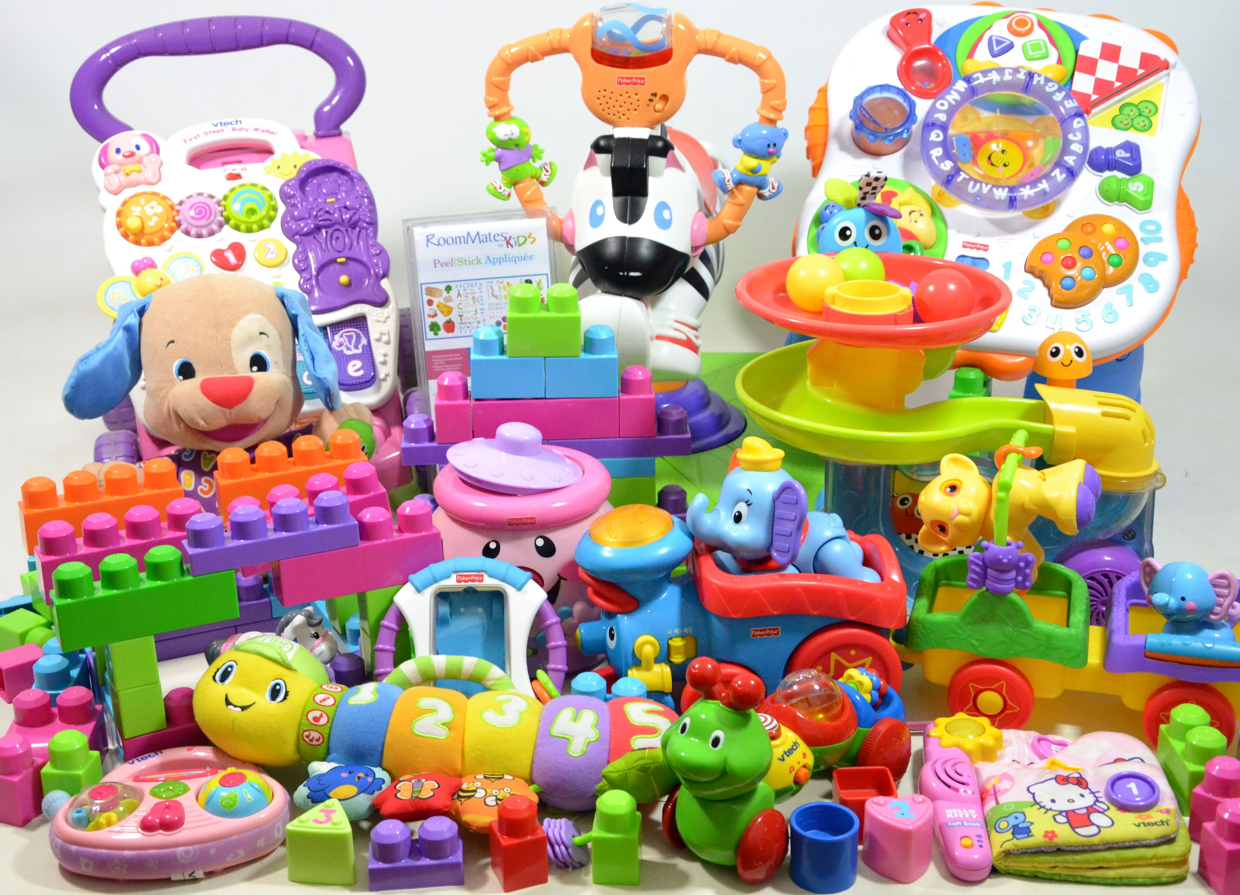 Quality baby toddler toy bundle vtech fisher price ideal for xmas