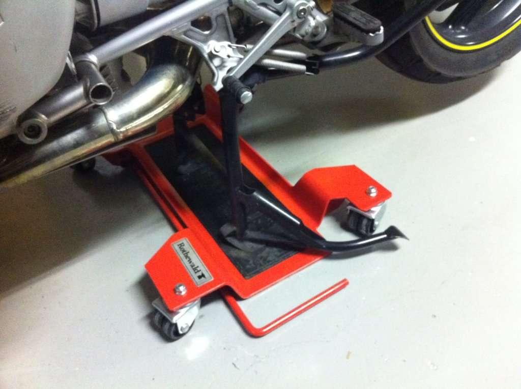 Plataforma para mover motos