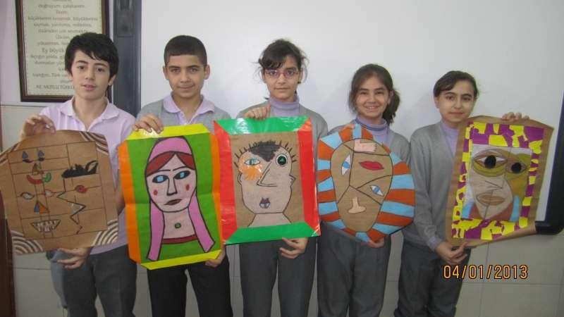 Konya dr mustafa öten soyut portreler