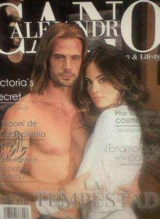 William Levy y Ximena Navarrete en la revista Alejandro Cano