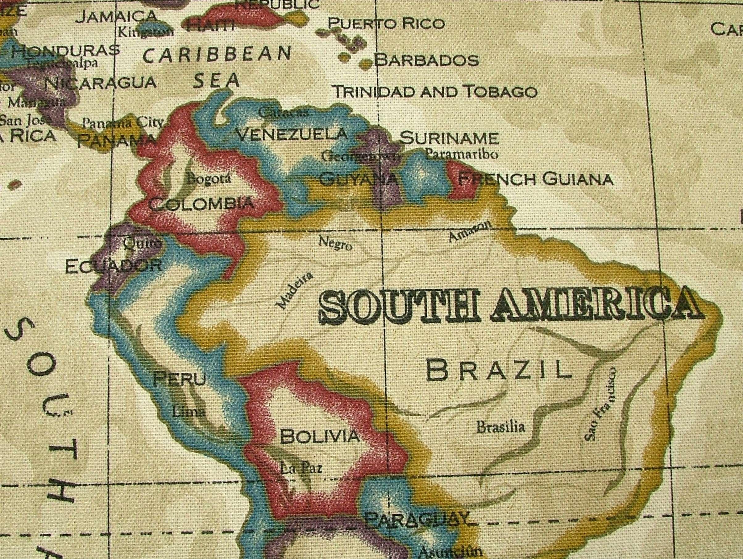 World map fabric giftwrap sleepymountain spoonflower vinyl world map prestigious atlas world map antique designer cotton gumiabroncs Image collections