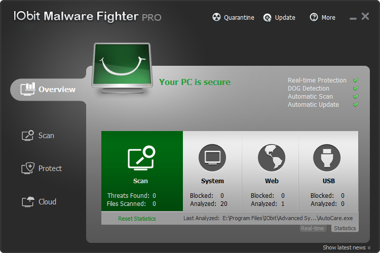 IObit Malware Fighter Pro v4.3.0.2739 Final Türkçe