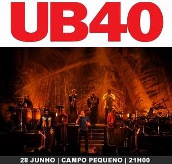 UB40 Som Direto Lisboa